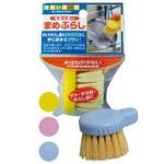 日本製 Japan 網目洗い毛足の長いまめブラシHB004 色アソート 39-339【12個セット】