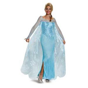 ディズニー DISNEY アナと雪の女王 エルサ コスチューム 大人M - 拡大画像