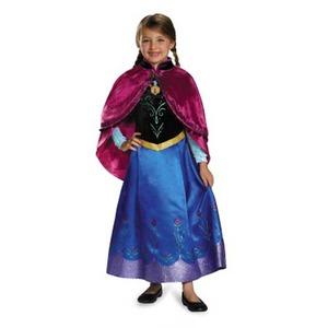 ディズニーDISNEYアナと雪の女王アナ旅の衣装子供用Sコスチューム