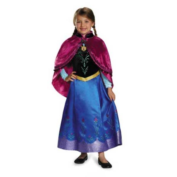 ディズニー DISNEY アナと雪の女王 アナ 旅の衣装 子供用S コスチューム f00