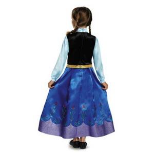 ディズニー DISNEY アナと雪の女王 アナ 旅の衣装 子供用S コスチューム  h03