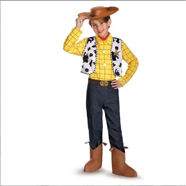 【ハロウィン衣装・子供】ディズニー トイ・ストーリー ウッディ 子供用衣装 S