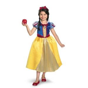 ディズニー DISNEY スノーホワイト 白雪姫 シマーコスチューム チャイルドM - 拡大画像