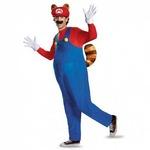 マリオ ラクーン デラックス Mario Raccoon Deluxe Adult コスチューム 大人男性用 XL 98825D
