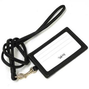 COACH アウトレットバタフライ ドット プリント ランヤード IDケース / カードケース F59788 IMDMH