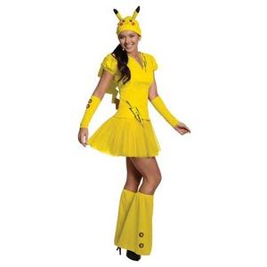 ポケモン ピカチュウ 大人用コスチューム Pokemon Pikachu Adult Costume 887326S