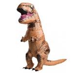 ジュラシックワールド Tレックス 膨張式 大人用 コスチューム T-Rex Adult  810481