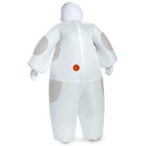 ディズニーDISNEY ベイマックス 膨張式 大人用(男女兼用) コスチューム White Baymax Inflatable Adult 91810