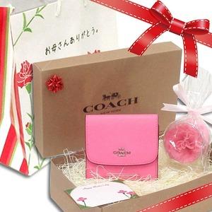 コーチ 財布 母の日ギフトセット COACH アウトレット フローラル プリント スモール ウォレット / 二つ折り財布