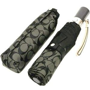 コーチ 傘 COACH アウトレット シグネチャー アンブレラ / 折り畳み傘