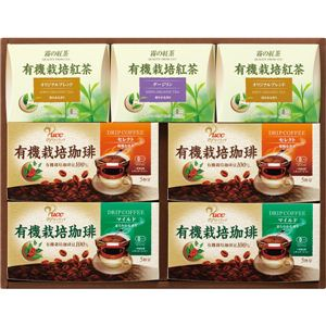 UCC有機栽培MAK-Y30A MAK-Y30A コーヒー&紅茶ギフト 13-0543-101 - 拡大画像
