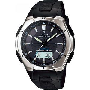 カシオ 電波腕時計 WVA-6 WVA-620J-1AJF電波腕時計 13-0375-048 - 拡大画像