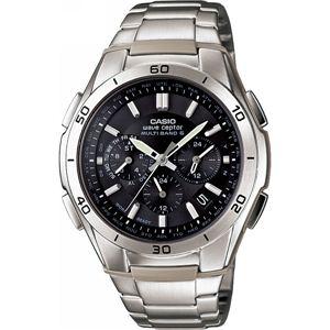 カシオ 電波腕時計 BK WVQ-M410D-1AJF電波腕時計黒 ブラック 13-0375-080 - 拡大画像
