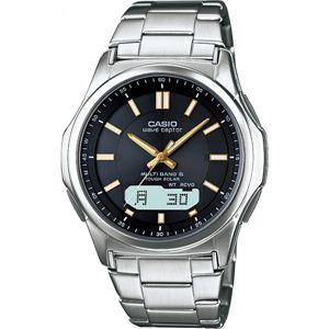 電波腕時計 BK WVA-M630D-1A2JF電波腕時計 ブラック 13-0375-064 - 拡大画像