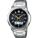 電波腕時計 BK WVA-M630D-1A2JF電波腕時計 ブラック 13-0375-064