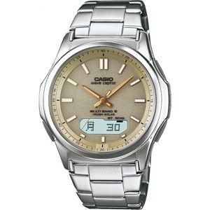 電波腕時計 ベージュ WVA-M630D-9AJF電波腕時計 ベージュ 13-0375-072 - 拡大画像