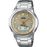 電波腕時計 ベージュ WVA-M630D-9AJF電波腕時計 ベージュ 13-0375-072
