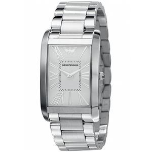 EMPORIO ARMANI (エンポリオ アルマーニ) AR2036 ステンレス シルバー文字盤 メンズ 腕時計 クォーツ - 拡大画像