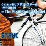 WACHSEN(ヴァクセン) 700c クロモリロードバイク 21段変速付 人気のクロモリフレーム STAHL(シュタール) (高品質・人気自転車・人気サイクル)