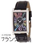 フランク三浦 FRANK MIURA 美しき革命という異名を持つ伝説の初号機(改) カラーブラック文字盤 クオーツ メンズ 腕時計 FM01K-CRBK