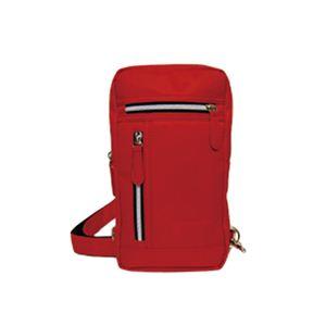ナイロンツイルボディーバッグ(RED) VAB-049-03 - 拡大画像