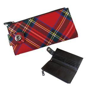 チェック Wallet(RED) WLT-036-01 - 拡大画像