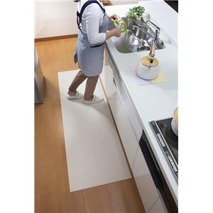 サンコー おくだけ吸着 吸着フロアマット 60×180cm プレーン (キッチンマット)の詳細を見る