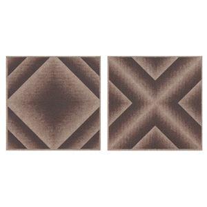 サンコー おくだけ吸着 バリアフリータイルマット グラデーション 18枚組(30×30cm) BR ブラウンの詳細を見る