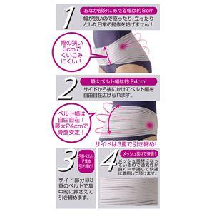 セルヴァン レディース骨盤3 モカ/M〜Lの紹介画像3