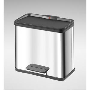 Hailo(ハイロ) トレントエコトリオ 33(11L×3)ステンレス(ゴミ箱・ダストBOX) 60072