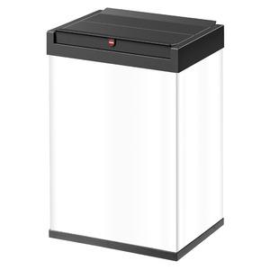 Hailo(ハイロ)ニュービッグボックス40L ホワイト(ゴミ箱・ダストBOX)60085