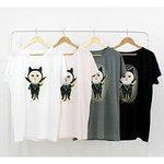 JETOY(ジェトイ) チューチューTシャツ/ベーシック(ブルーアイ)WH