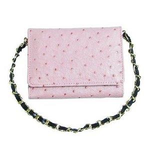コンパクト財布/ピンク h01