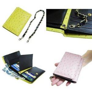 コンパクト財布/ピンク h02