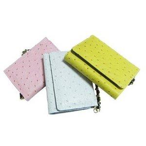 コンパクト財布/ピンク f04