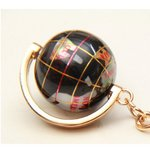 地球儀キーホルダー/ブラック