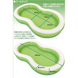 Bestway グリーンラグーン・ファミリープール IFD-174【5個セット】の写真4