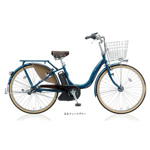BRIDGESTONE (ブリヂストン) 自転車本体/電動自転車 アシスタ DX Special 24インチ 内装3段 E.Xティールブルー - 拡大画像