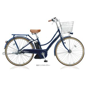 BRIDGESTONE (ブリヂストン) 自転車本体/電動自転車 アシスタポルク 26インチ 内装3段 E.XアメリカンBL - 拡大画像