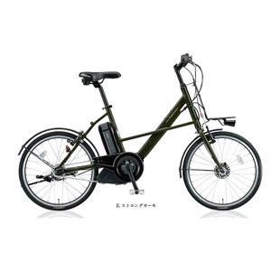 BRIDGESTONE (ブリヂストン) 自転車本体/電動自転車 リアルストリーム mini 20インチ 内装3段 E.ストロングカーキ - 拡大画像