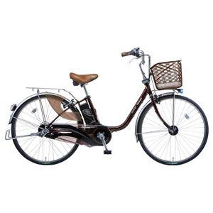 Panasonic(パナソニック) VIVI EX 24インチ アレックスフレーム 内装3段変速 ビターブラウン 電動補助自転車