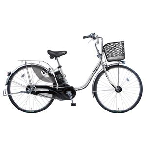 Panasonic(パナソニック) VIVI EX 26インチ アレックスフレーム 内装3段変速 プラズマシルバー 電動補助自転車