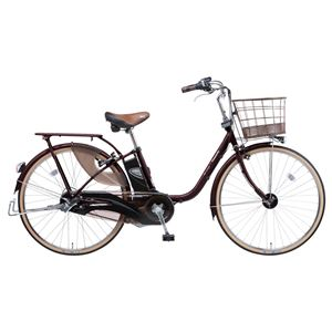 Panasonic(パナソニック) viviStyleDX 26インチ アレックスフレーム 内装3段変速 ビターブラウン 電動補助自転車