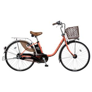 Panasonic(パナソニック) VIVI DX 24インチ アレックスフレーム 内装3段変速 コーラルオレンジ 電動補助自転車