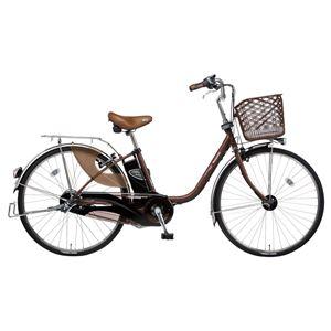 Panasonic(パナソニック) VIVI DX 26インチ アレックスフレーム 内装3段変速 チョコブラウン 電動補助自転車