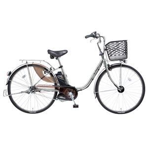 Panasonic(パナソニック) VIVI SX 24インチ アレックスフレーム 内装3段変速 モダンシルバー 電動補助自転車