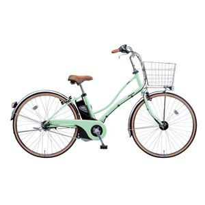 Panasonic(パナソニック) ViVi Latte 26インチ アレックスフレーム 内装3段変速 パウダーグリーン 電動補助自転車
