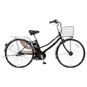 Panasonic(パナソニック) VIVIBUDDY 26インチ アレックスフレーム、強化フレーム 内装3段変速 ピュアマットブラック 電動補助自転車