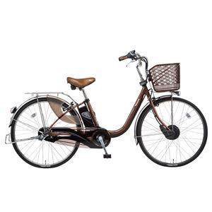 Panasonic(パナソニック) ViVi CHARGE D 24インチ アレックスフレーム 内装3段変速 チョコブラウン 電動補助自転車