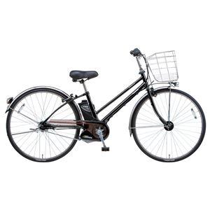 Panasonic(パナソニック) VIVI SX CITY 27インチ アレックスフレーム、強化フレーム 内装5段変速 ピュアブラック 電動補助自転車